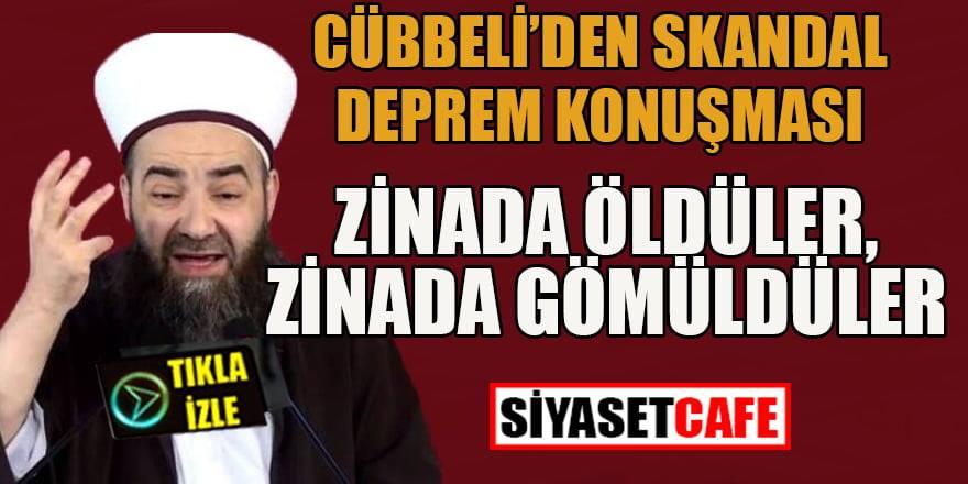 Cübbeli Ahmet'ten skandal deprem konuşması!