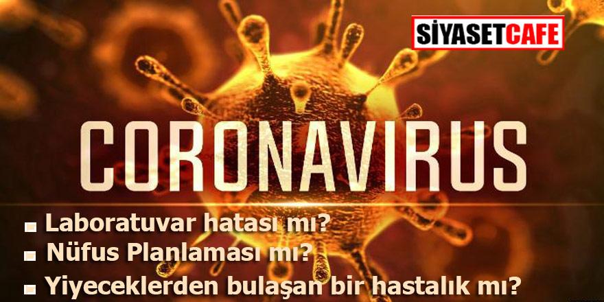 Dünyayı korkutan Corona Virüsü Laboratuvar hatası mı?