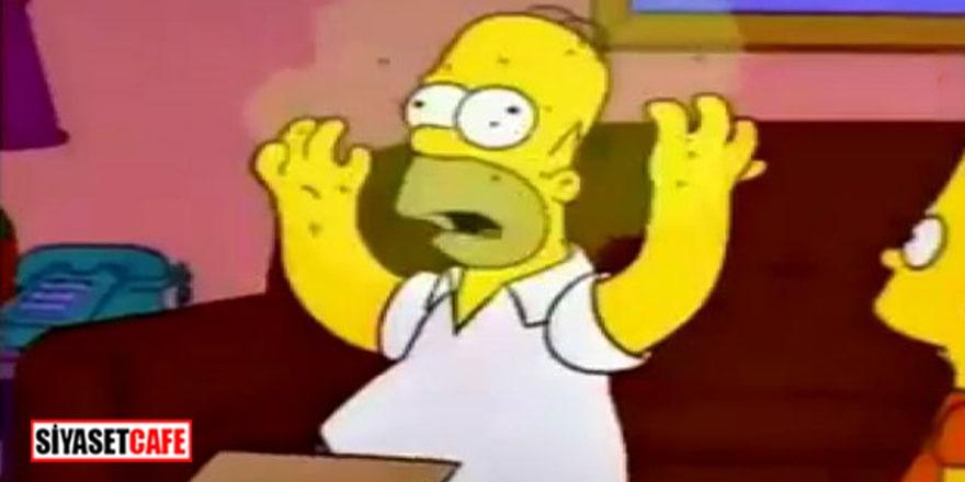 The Simpsons'ın bölümünde 'koronavirüs' izine rastlandı