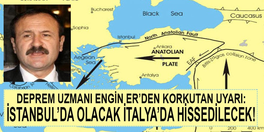 """Deprem Uzmanı Engin Er'den korkutan uyarı; """"İstanbul'da olacak Avustralya ve İtalya'da bile hissedilecek"""""""