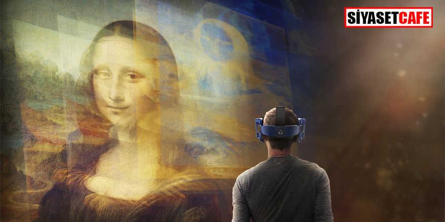 Sanal gerçeklik yoluyla Mona Lisa ziyareti