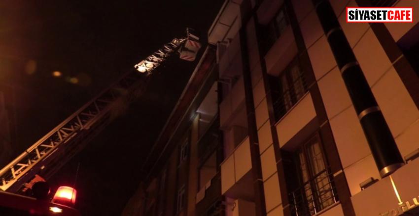 Esenyurt'ta yangın paniği:10 kişi mahsur kaldı!