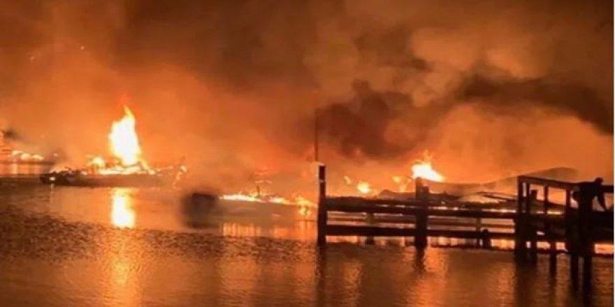 Marinada facia: 8 kişi yanarak öldü, 6 yaralı