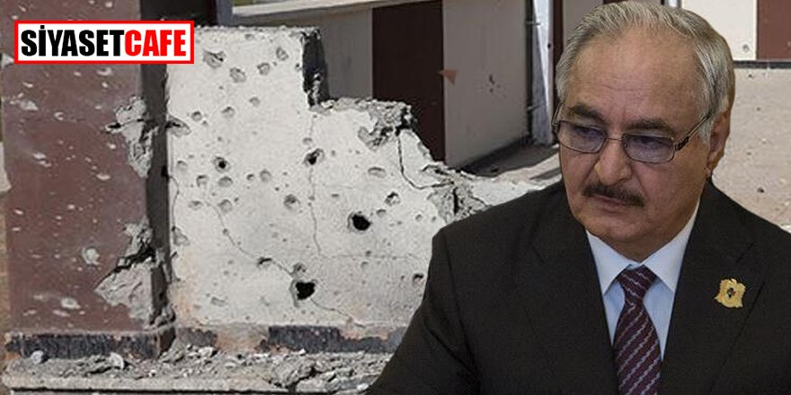 Dünya şokta! Hafter Trablus'ta okula saldırdı