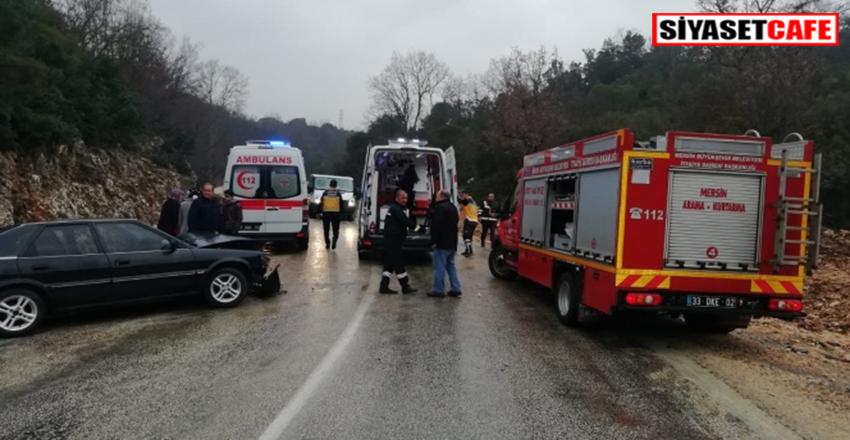 Mersin'de feci kaza:9 yaralı