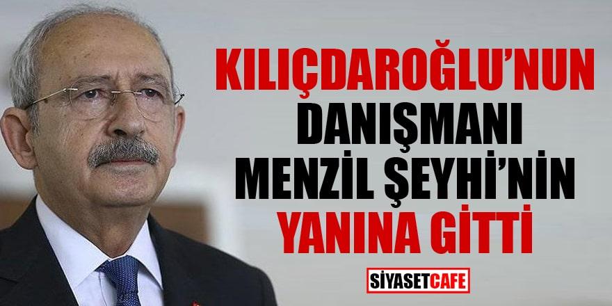 Kılıçdaroğlu'nun danışmanı Menzil Şeyhi'nin yanına gitti