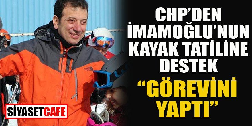 CHP genel merkezinden tatile ilk yorum