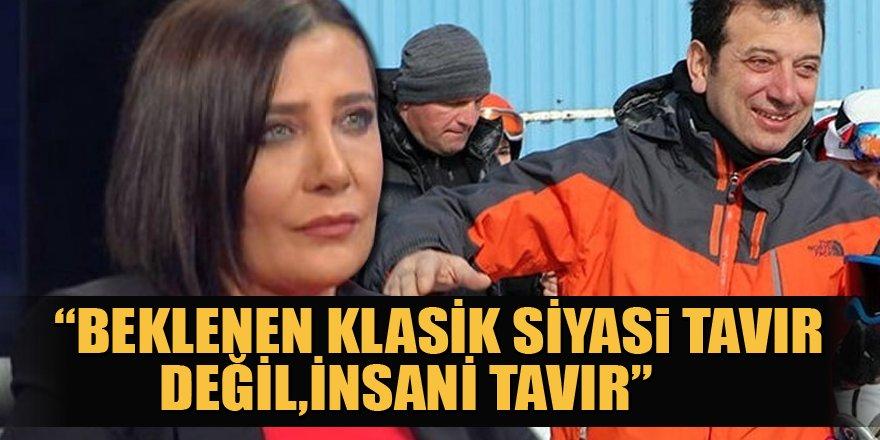 Sevilay Yılman'dan İmamoğlu'nun kayak tatiline tepki: Özür dilemeliydi