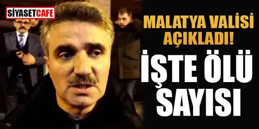 """Valisi Baruş: """"Malesef 5 vatandaşımızı kaybettik"""""""