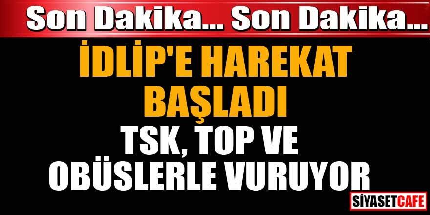 TSK İdlip'e harekat başlattı iddiası