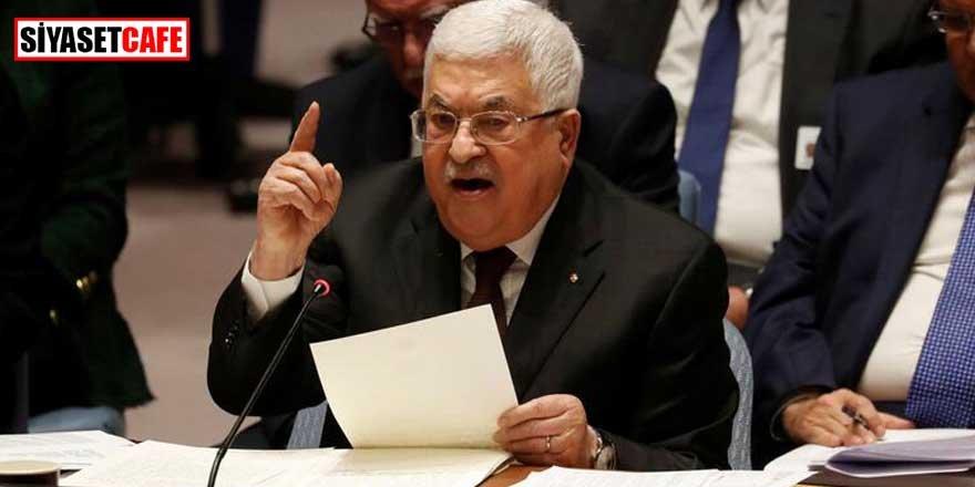 Filistin Devlet BaşkanıAbbas: Kabul etmiyoruz