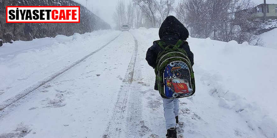 Eğitimde kar tatili verilen iller…