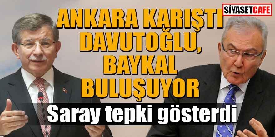 Davutoğlu-Baykal buluşması Ankara'yı karıştırdı