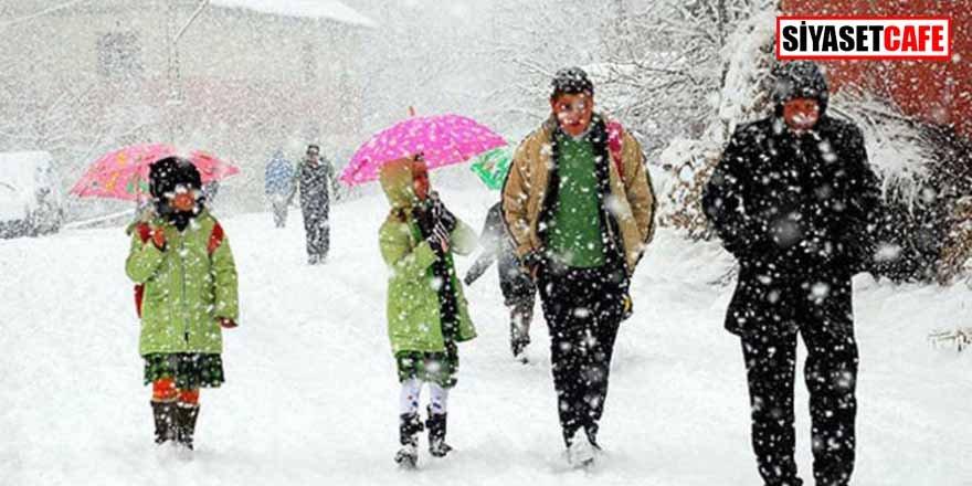 Kar sebebiyle hangi illerde okullar tatil oldu?