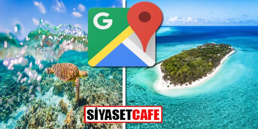 Google Maps sayesinde artık hepimiz birer Kaptan Cousteau olabileceğiz