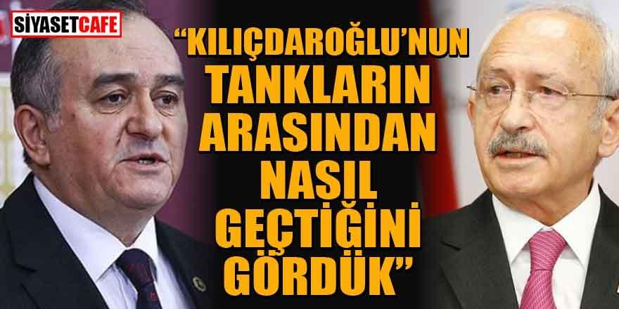 MHP: Kılıçdaroğlu'nun tankların arasından nasıl geçtiğini gördük
