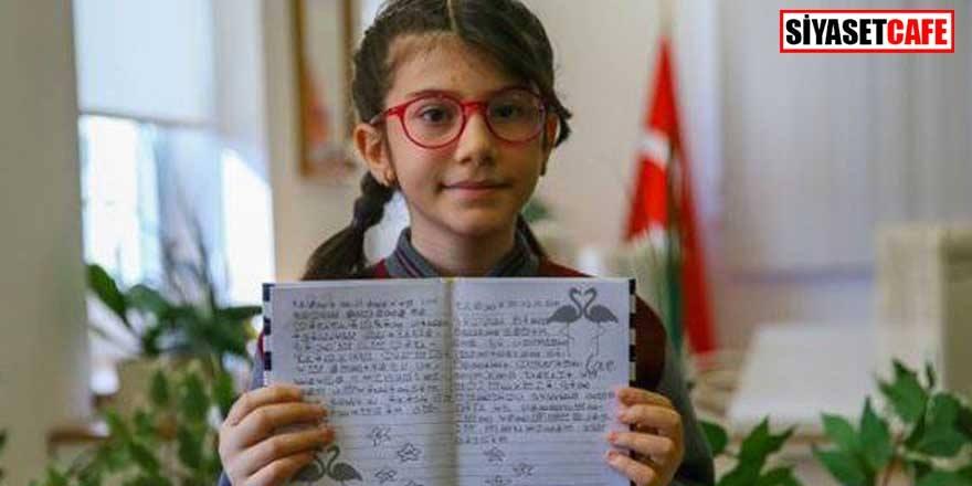 Matematikte dünya birincisi olan Elanur, gurur kaynağımız oldu!