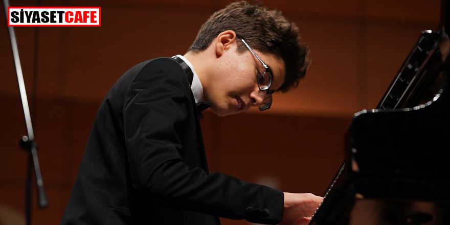 Piyanonun yıldızı Tarık Kaan Alkan konser verecek