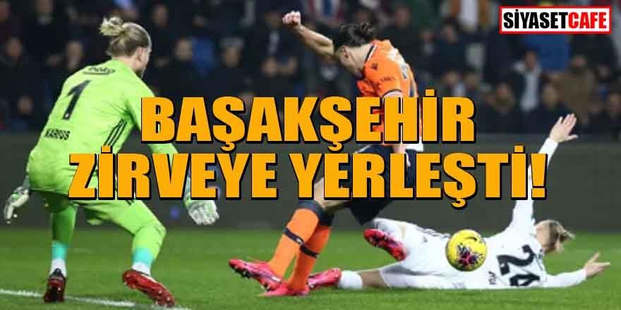 Başakşehir, Beşiktaş'ı mağlup etti! Zirveye yerleşti