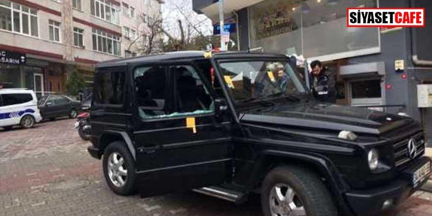 İstanbul'da sıcak dakikalar! Lüks otomobile kurşun yağdırdılar...