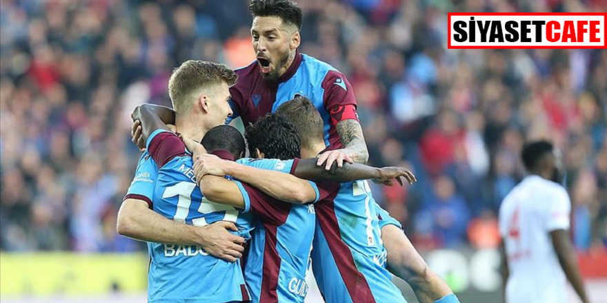 Trabzonspor'da 298 haftalık özlem sona erdi