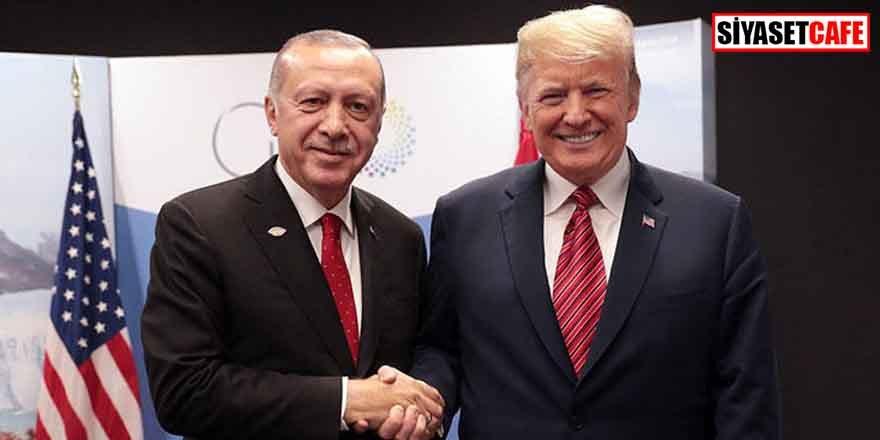 Trump'tan Erdoğan'a teşekkür açıklaması