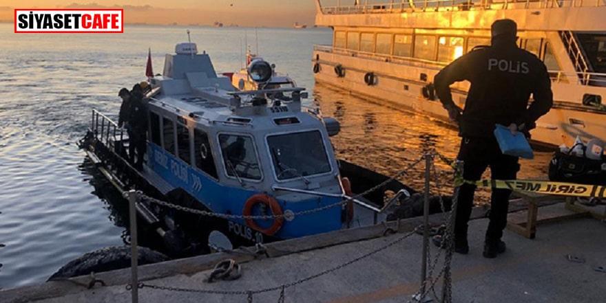 Kartal'da denizde ceset bulundu