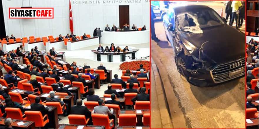 AK Parti'nin genç vekili TEM'de kaza yaptı