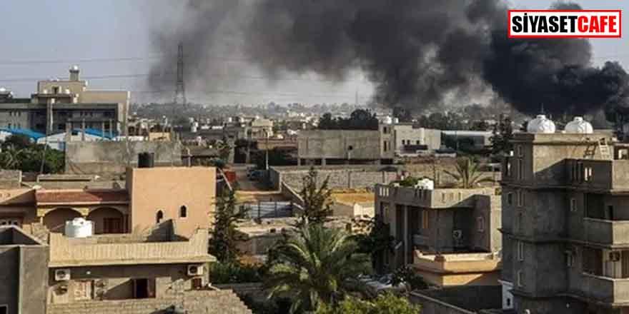 Haftet milislerinden Trablus Limanı'na roketli saldırı