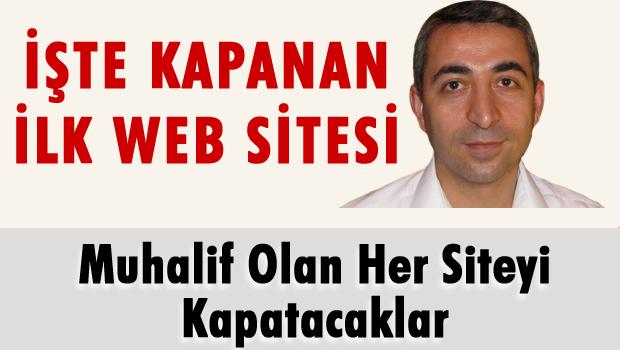 İşte kapanan ilk web sitesi!