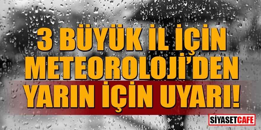 Cuma beklenen yağış, yarın geliyor! İstanbul, Ankara ve İzmir'de etkili olacak
