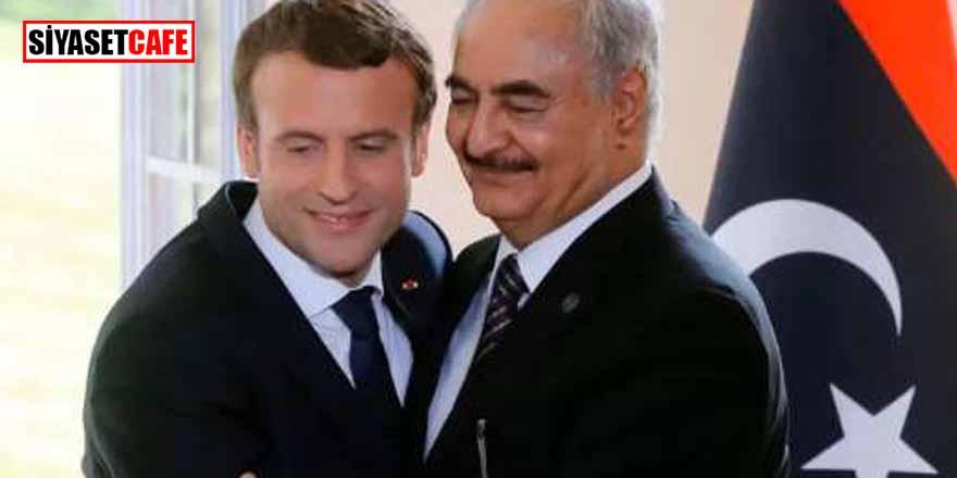 Bu fotoğrafla twitter'dan paylaştı! Şentop'tan Macron'a sert tepki
