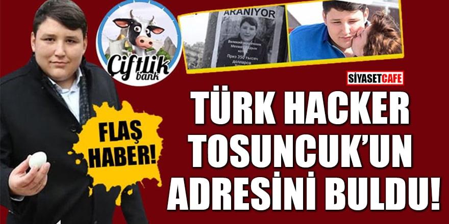 Türk hacker Çiftlik Bank firarisi Tosuncuk Mehmet Aydın'ın adresini buldu
