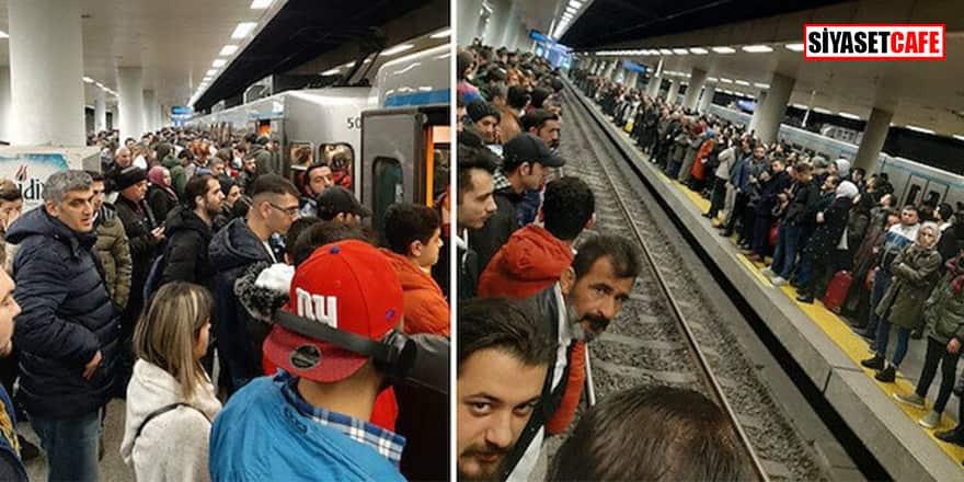 İstanbul'da metro arızası! Seferlerde aksama yaşanıyor