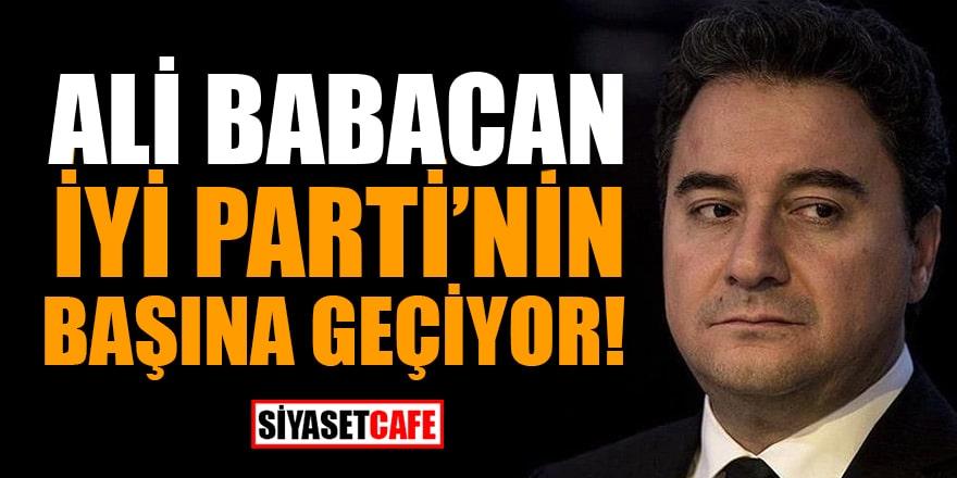 Kulisleri sallayan bomba iddia: Ali Babacan İYİ Parti'nin başına geçiyor