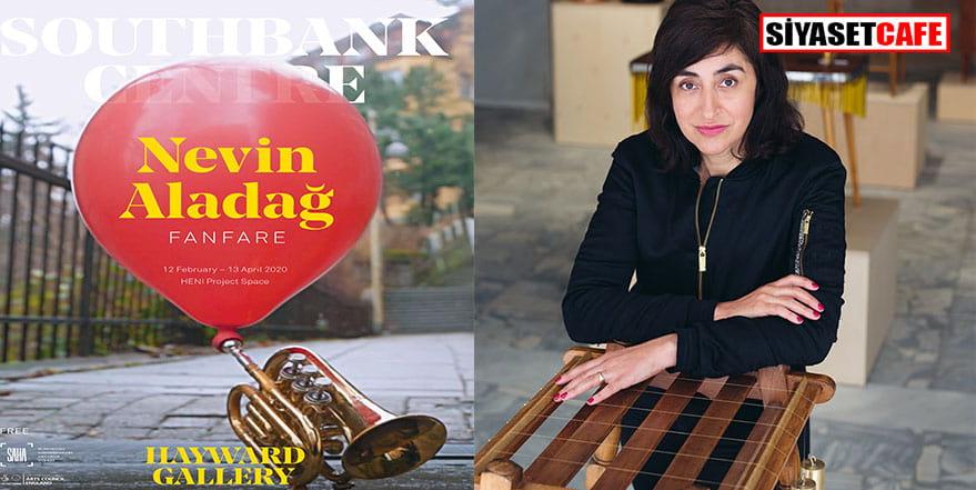 Türk sanatçının sergisine önemli destek
