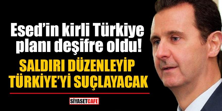 Esed'in kirli Türkiye planı deşifre oldu