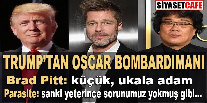 """Trump Oscar ödüllerini bombaladı; Brad Pitt; """"küçük ukala adam"""""""