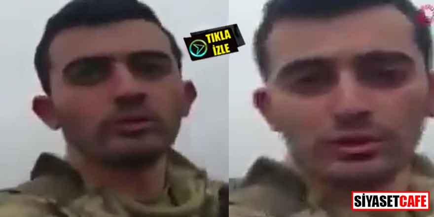 """İdlib şehidinin son görüntüsü yürekleri dağladı! """"Ucuz kurtulduk"""" demiş"""