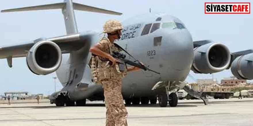 BAE, Hafter'e 2 uçak dolusu silah gönderdi