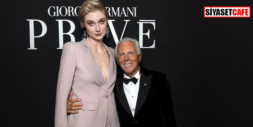 Giorgio Armani'den moda sektörüne 'tecavüz' suçlaması