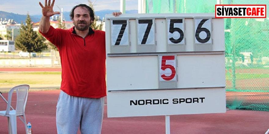 Eşref Apak 5.kez olimpiyatlara gidiyor
