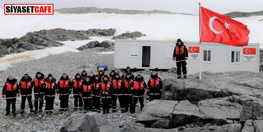 Türk Bilim heyeti Antarktika'daki üsse ulaştı