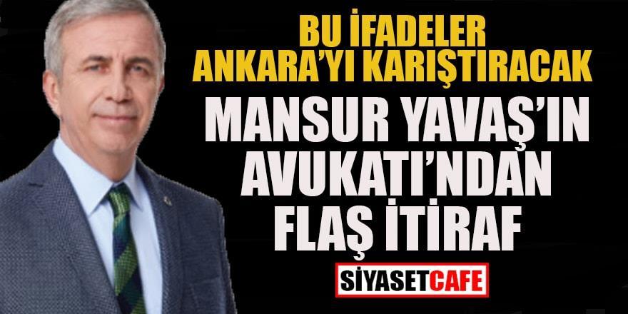 Mansur Yavaş'ın avukatından şok itiraf: Sahte senet davasında yeni gelişme