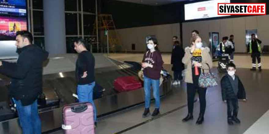 İran'dan gelen son uçak da indi