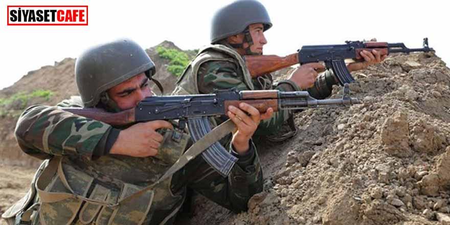 Azerbaycan-Ermenistan sınırında çatışma. Bir asker şehit