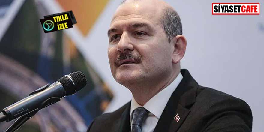 """Bakan Soylu'dan İran-Türkiye arası ulaşım hakkında açıklama""""Türkiye'ye dönüş olmaz"""""""