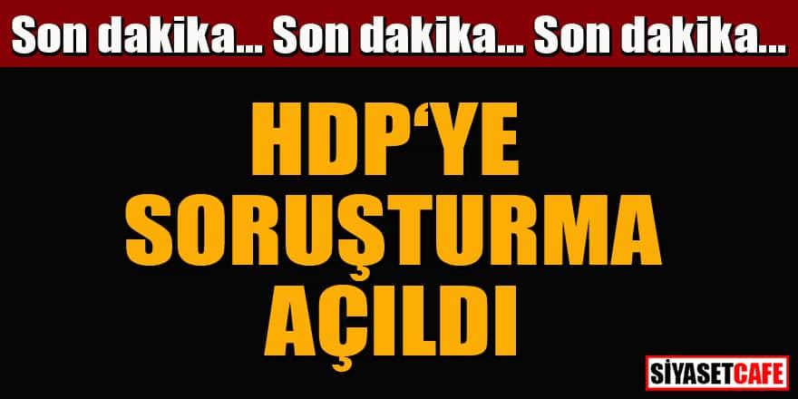 Son dakika! HDP Kongresi'ne soruşturma açıldı!