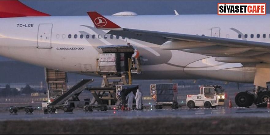İran'dan Türk vatandaşlarını getiren uçak dezenfekte edildi