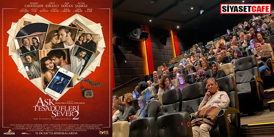 150 kadın 'Aşk Tesadüfleri Sever 2' filminde buluştu